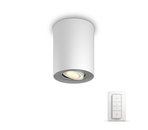 PHILIPS PILLAR HUE WHITE + DIMMER SWITCH 56330/31/P7