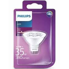 Philips LED 4,7W/35W GU5,3 WW 12V 36D ND