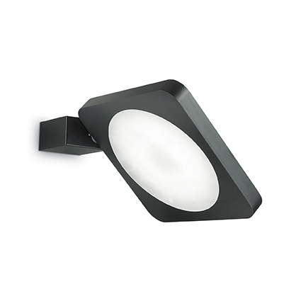 IDEAL LUX FLAP SQUARE NERO 155425
