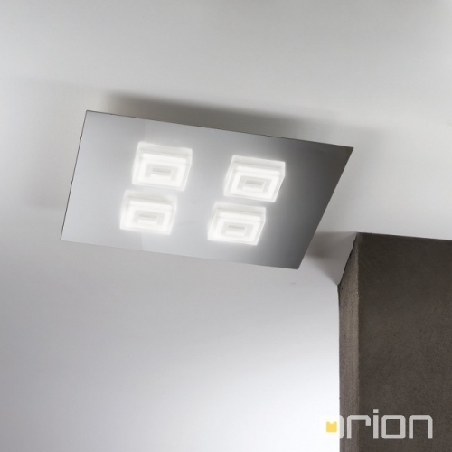 ORION SQUARE DL 7-592/4 CHROM LED 4X5W 1400LM 3000K 45CM