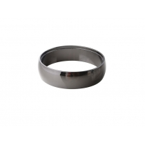 AZZARDO ADAMO RING AZ1484 (black/chrome)