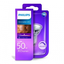 Philips LED 5,5W/50W GU10 WH 36D D bodová