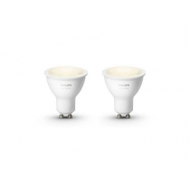 PHILIPS HUE White žárovka 5,5W GU10 EU 2700K SET 2KS