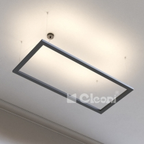 CLEONI ARA LED 1300X600 BLACK