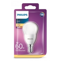 Philips LED 7W/60W E14 WW FR P45 ND mini kvapka